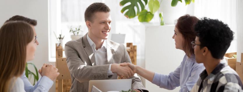 Relação de confiança no trabalho